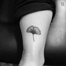 Resultado de imagen para tatuajes hojas de ginkgo biloba