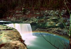 Cumberland Falls Ky. is the only place where a Moonbow appears in the Western hemisphere.