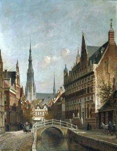 Dutch Painters, Bucharest, Barcelona Cathedral, Netherlands, Paris Skyline, Holland, History, City, Building