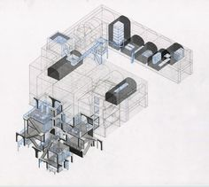 Drawing ARCHITECTURE | Drawingss Tagged 'axonometric'