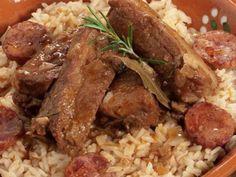 Arroz de Entrecosto | A Cozinhar com simplicidade