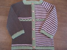 Free Pattern: Yet to be named Baby Cardigan by YarnMadness