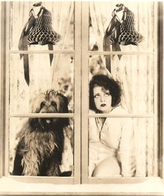 Clara Bow #dog #vintage #Christmas