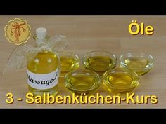 Salbenküchen-Kurs 10: Kräuter-Tinkturen - YouTube