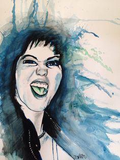 #JoanJett in #watercolor