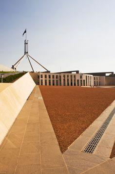 Parliament House. Canberra. Australia.