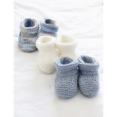 Baby's Booties - Patterns | Yarnspirations