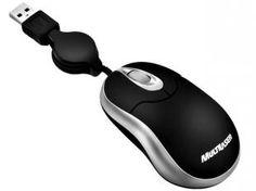 Mini Mouse Óptico Retrátil - Multilaser MO117