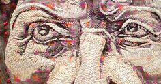Imagem de http://www.textileartist.org/wp-content/uploads/2012/11/Nigel-Cheney_Textile-Artist_Hercules-detail.jpg.