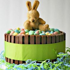 Mini Eggs Easter Cake