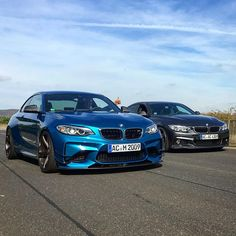 """603 Likes, 6 Comments - AC Schnitzer (@acschnitzer) on Instagram: """"M2 by AC Schnitzer und 4er Gran Coupé by AC Schnitzer  #bmw #M2 #m2acschnitzer #behindthescene…"""""""