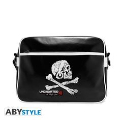 UNCHARTED Sac Besace Uncharted Skull Vinyle