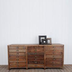 Henri 3 Drawer Sideboard