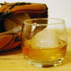 How to drink your whiskey - The ice ball. Less surface area means a slower melt. Keep the drink cool and stiff for longer.
