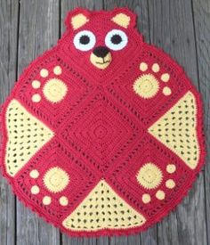 Bearghan Pawprints Crochet Pattern by JKrochetDesigns on Etsy