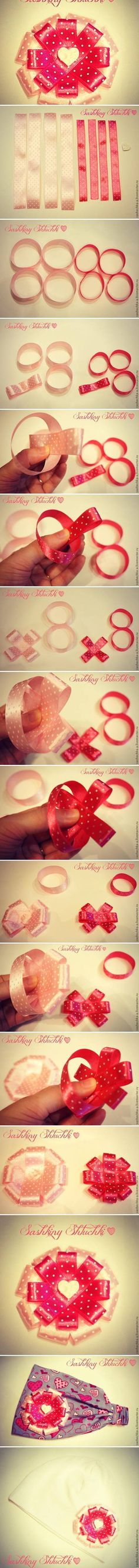 DIY Round Rose Bow DIY Projects | UsefulDIY.com