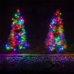 10 christmas light ideas in 10 minutes or less - Christmas Pathway Decorations