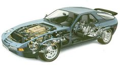 Porsche 928.     For once, Giugiaro was bested.