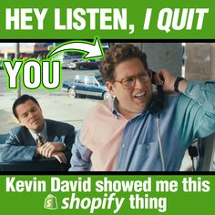 When it comes to learning Shopify and eCom there's nobody better than Kevin David!