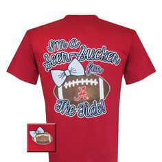 New Alabama Crimson Tide Bama Seer Sucker Bright T Shirt | SimplyCuteTees