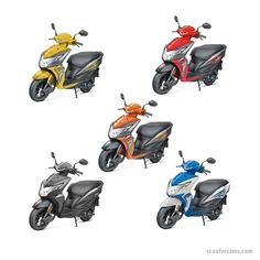 Honda Dio, Honda Dio colours, honda dio scooty, Honda Dio colors, Honda Dio images Honda Scooter Models, Honda Scooters, Scooter Design, Tubeless Tyre, Performance Engines, Image Model, Seat Storage, New Honda, Drum Brake