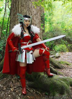 An Exploring South African by Craig Lotter: The Mighty Thor Cosplay: Lady Sif (Yaya Han) Thor Cosplay, Lady Sif Cosplay, Best Cosplay, Awesome Cosplay, Anime Cosplay, Lady Loki, Cosplay Outfits, Cosplay Girls, Avatar