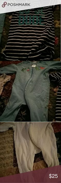 Baby clothes Barely used baby boy clothes. Pajamas Nightgowns