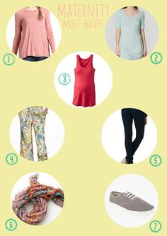 maternity must haves from Oh, Sweet Joy
