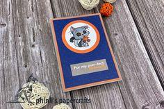 Emboss, Cardmaking, Friendship, Paper Crafts, Orange, Cards, Blue, Design, Making Cards
