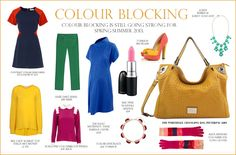 Colour Blocking - The Whitehall Changing Bag