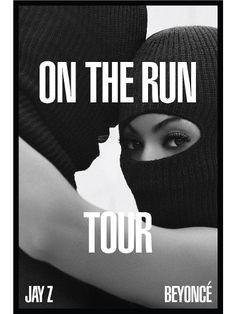 Beyoncé y Jay Z A anunciaron su gira nueva gira con este afiche ¿qué les parece?