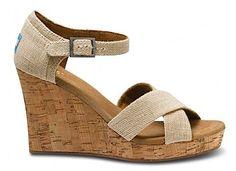 TOMS Wedge Sandals -