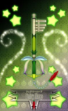 Fairy Harp Keyblade