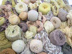 natural dyes by Lari Washburn, via Flickr