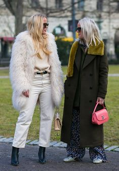 The best street style pics from Stockholm Fashion Week.