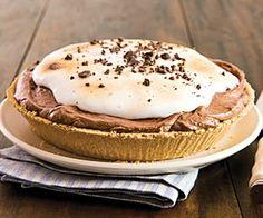 SMores Frozen Pie