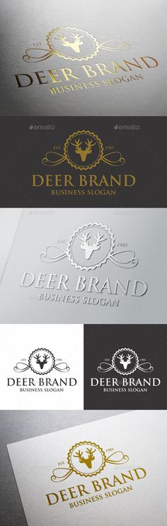 Deer Crest Logo – Elegant and Fashionable Badge Logo – Unique Logo Branding – Great deer logo for your company. An excellent logo template highly suitable for Real Estate, Leisure business, Luxury restaurant, Sports club, Trading center, Fashion and clothing businesses. Stylish Multi Purpose Logo Template. Perfect for Hotels, Finance, Investment, Jewelery, Media Group, Fashion, Winery… (Industry with classy, nobility, elegant and luxury style ).