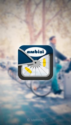 Ambisi APP logo by Alfonso , via Behance #app #ui #icon