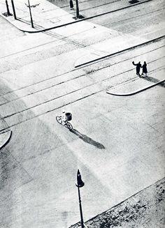 undr:  László Moholy-Nagy 7A. M. New Year's Morning. Berlin. 1930's