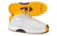 Adidas Kobe 1, Bryant wore these in the 2000 and 2001 Finals