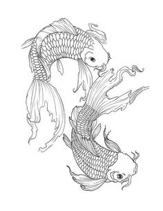 Japanese Tattoo Designs II by Derek Dufresne 56 Pages featuring Dragons, Koi, Masks, Flowers & more. All images featured in this ebook are under copyright and can not be reproduced or sold as your own. Koi Fish Drawing, Fish Drawings, Art Drawings Sketches, Tattoo Sketches, Tattoo Drawings, Dragon Tattoo Drawing, Dragon Thigh Tattoo, Koi Tattoo Design, Dragon Tattoo Designs