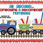 Are you working on composing and decomposing numbers 11-20 with your students?   If you students are like mine, they are having trouble with this c...