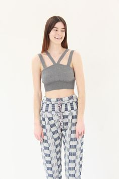 Beklina Diarte Devon Knit Top Grey