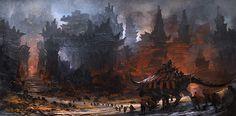 Feng Zhu:  FZD School of Design, LucasFilm, Epic Games Concept Artist  -  conceptroot