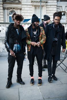 these dudes are repeaters in Street mag. Always at Paris fashion week!