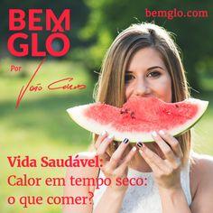 Vem com a gente anotar mais uma dica do Dr. João Curvo sobre o que consumir em dias de muito calor. Confira aqui>