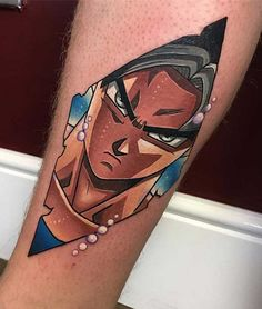 The biggest gallery of Dragon Ball Z tattoos and sleeves, with a great character selection from Goku to Shenron and even the Dragon Balls themselves. Manga Tattoo, Z Tattoo, Anime Tattoos, Goku E Vegeta, Dbz, Mini Tattoos, Body Art Tattoos, Tatoos, Hugo Tattooer