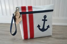 Anchor Sail Anew Ditty Bag by toteswithatwist on Etsy, $35.00