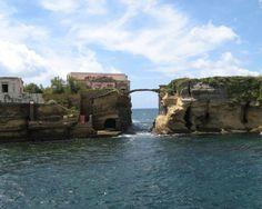 Island of Gaiola. Naples, Italy