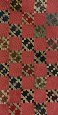 "of History"" Online Quilt Exhibit ""Patchwork of History"" Online Quilt Exhibit Pink Quilts, Old Quilts, Amish Quilts, Antique Quilts, Small Quilts, Scrappy Quilts, Cotton Quilts, Vintage Quilts Patterns, Quilt Patterns"
